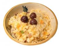 Pumpkin Risotto with Chestnut